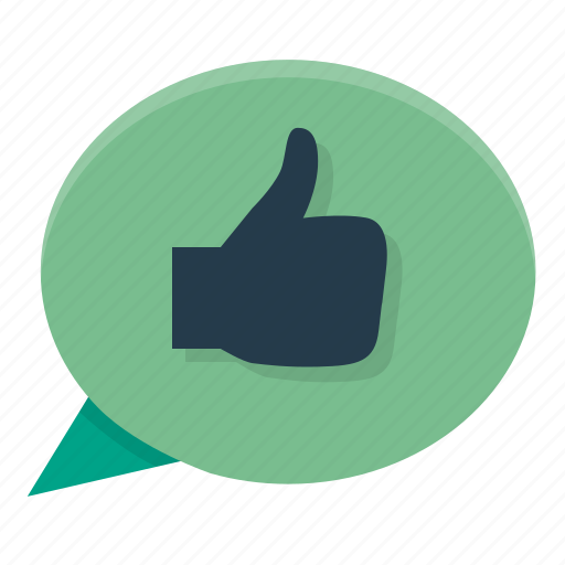 approve, feedback, positive, thumb up, yes icon