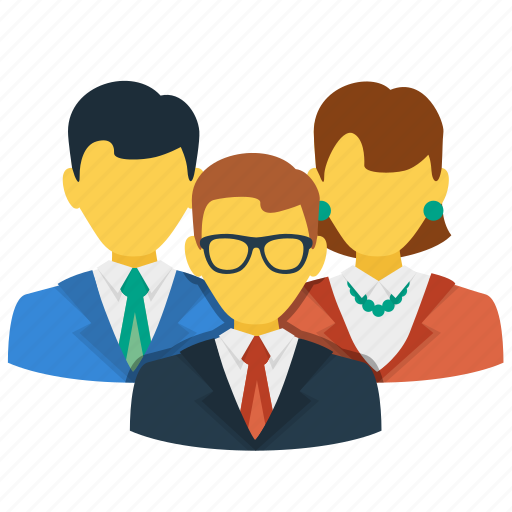 community, customers, group, people, team icon