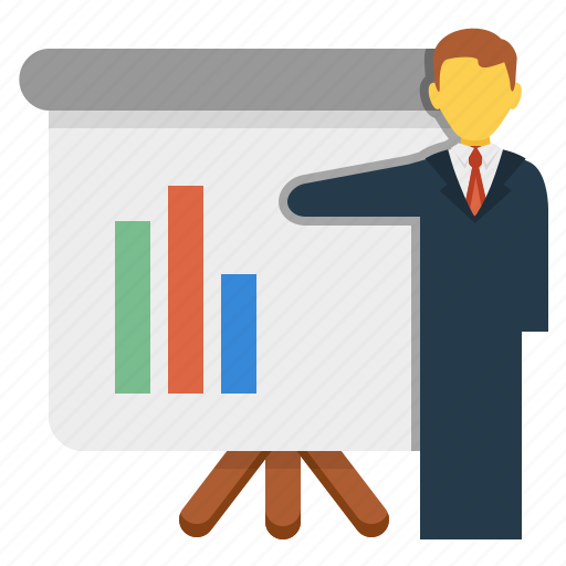 Presentation, conference, education, training, business meeting icon - Download on Iconfinder