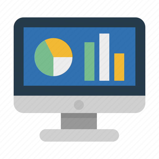 monitoring, productivity, sales report, seo analytics, statistics icon