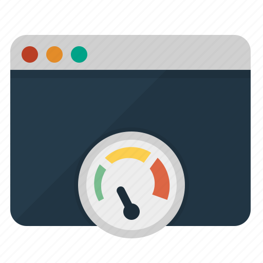 browser, dashboard, page speed, performance, productivity icon