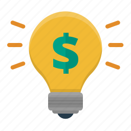 brainstorming, bright, budget, budget idea, bulb, bulb light, business idea, cash, concept, currency, dollar, earnings, finance, financial, hint, idea, income, investment, lamp, lightbulb, lightning, money, payment, profit, solution, thought, tip icon