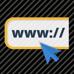 address, arrow, browser, domain, http, internet, link, market, marketing, net, network, online, optimization, page, seo, service, surfing, url, web, webpage, website, www icon