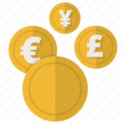banking, business, buy, cash, coin, coins, conversion, converter, currency, dollar, earnings, ecommerce, finance, financial, forex, investment, money, money operations, payment, payments, profit, revenues, shop, shopping, wealth icon
