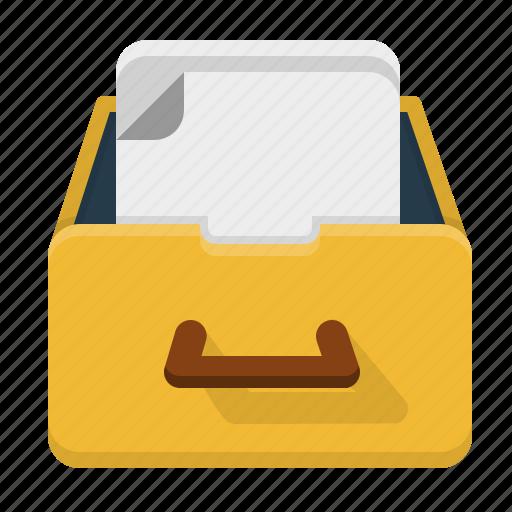 archive, catalog, database, inventory, storage icon