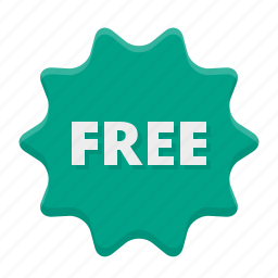 badge, basic, discount, free, gift, gratis, label, money, price, shopping, sticker, tag icon