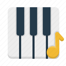acoustic, acoustical, audio, chime, dj, education, key, media, melody, midi, mp3, multimedia, music, noise, nota, notation, note, notes, phonic, piano, play, player, school, sonic, sound, stereo, tune, volume icon