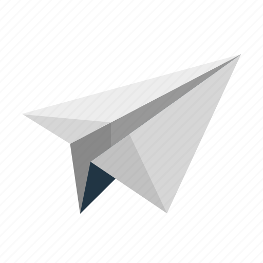 email, message, paper plane, send icon