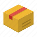 delivery, package, product, shipment, shipping icon
