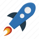 advertising, booster, brand, branding, development, energy, fast, fly, marketing, nasa, power, project launch, rocket, shuttle, skyrocket, space, spacecraft, spaceship, startup, technology, travel icon
