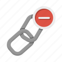 delete, remove, chain, hyperlink, inbound links, unlink