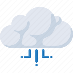 cloud, internet, signal, storage, technology icon