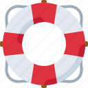 lifebuoy, ship, beach, safety, sea