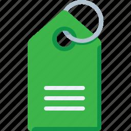 price tag, shop, tag icon