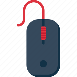 click, device, input, mouse, technology icon