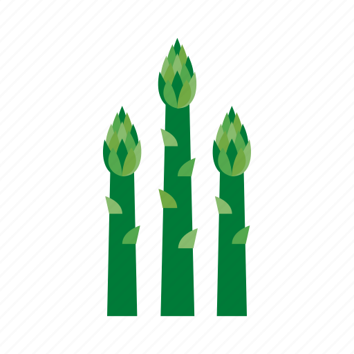 asparagus, cook, food, green, kitchen, vegetable, veggie icon