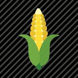 cook, corn, dish, food, kernels, vegetable, veggie icon