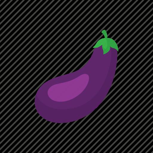 cook, eggplant, food, kitchen, purple, vegetable, veggie icon
