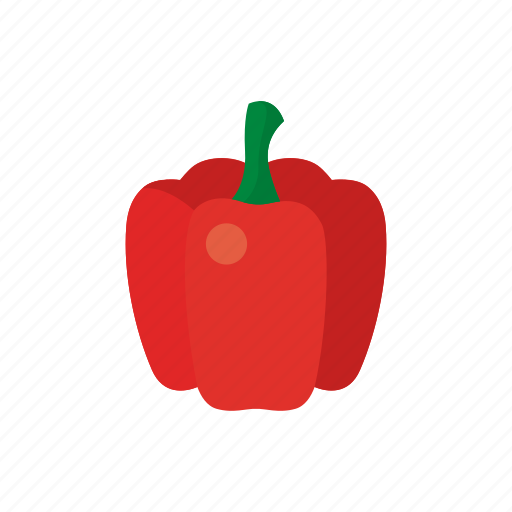 cook, food, paprika, pepper, red, vegetable, veggie icon