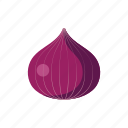 cook, food, kitchen, onion, purple, vegetable, veggie icon