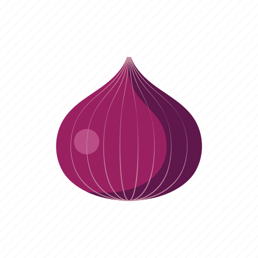 cook, food, kitchen, onion, purple, vegetable, veggie icon