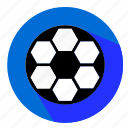 ball, designs, flat, football, icon, soccer, sport icon