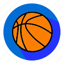 flat, designs, basketball, ball, sport