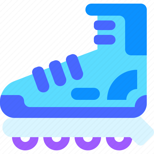 game, lifestyle, roller skate, skate, sport, sports, training icon