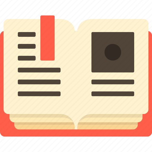 book, education, knowledge, learning, note, read, text icon
