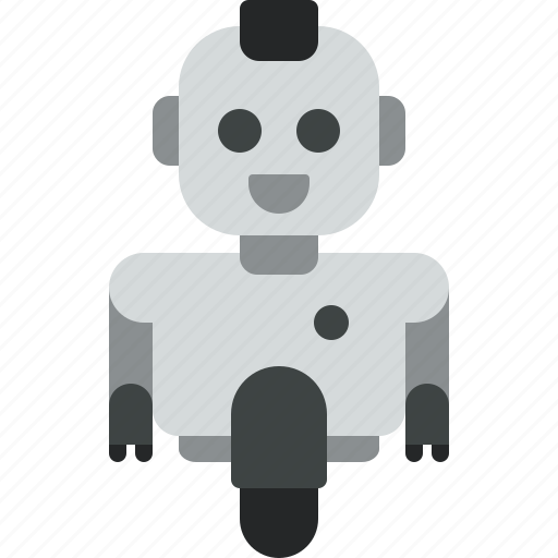 android, computer, device, internet, phone, robot, technology icon
