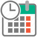 clock overlay, measure, schedule, time, timer, wait, watch icon