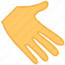 hand, manage, palm, pan, thingers, thumb, touch icon