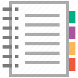 catalog, data, document, information, inventory, product list, report icon