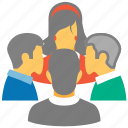 family, forum, friends, group, people, social connection, users icon