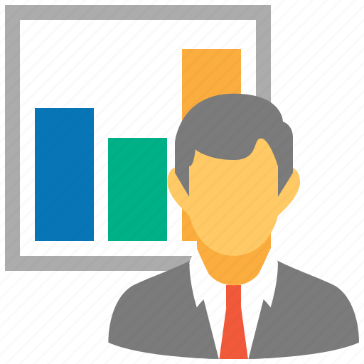 delivery, logistic, logistics, marketer, report, reporter, seller icon