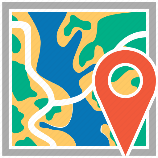cartography, direction, gps, location, map marker, navigation, route icon