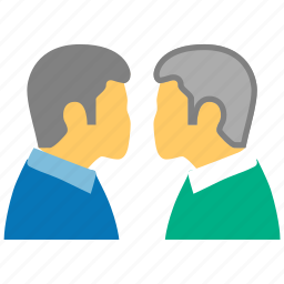 chat, dialog, meet, meeting, message, speech, talk icon