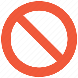 ban, disabled, forbidden, no entry, prohibited, restrict, restricted icon