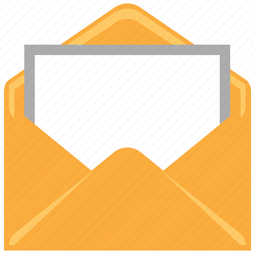 comment, email, envelope, letter, messages, open mail, read message icon