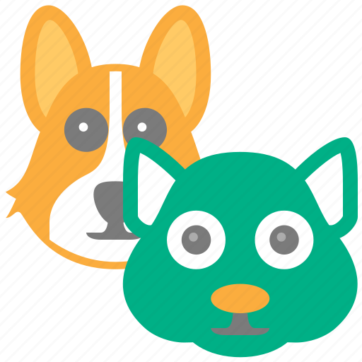 animals, cat, cats, dog, dogs, pet, pets icon