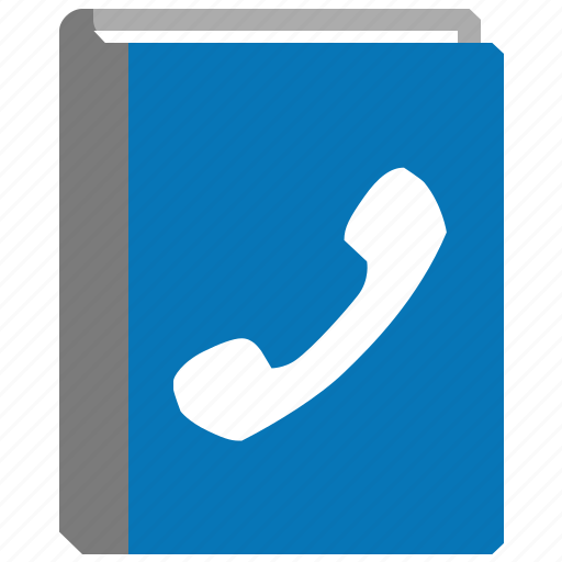 address book, bulk list, communicate, contacts, phone records, phonebook, yellow pages icon
