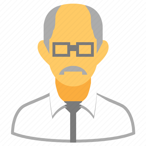 grandfather, old man, patient, pension, retired, retiree, retirement icon