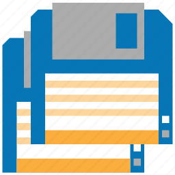 backup, disk, download, downloads, floppy, save all, storage icon