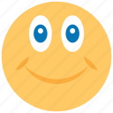 emoticon, emotion, face, funny, happy, smile, smiley