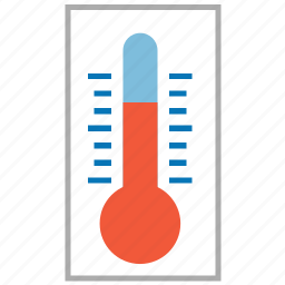 climate, gauge, measure, meter, temperature, thermometer, weather icon