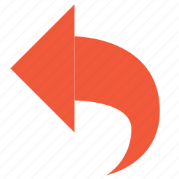 arrow, back, cancel, edit, left, rollback, undo icon