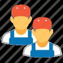 industry, service, staff, team, work, worker, workers