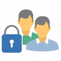 closed, friends, group, lock group, lock users, locked, locked customers, locked group, locked users, people, private, private group, users icon