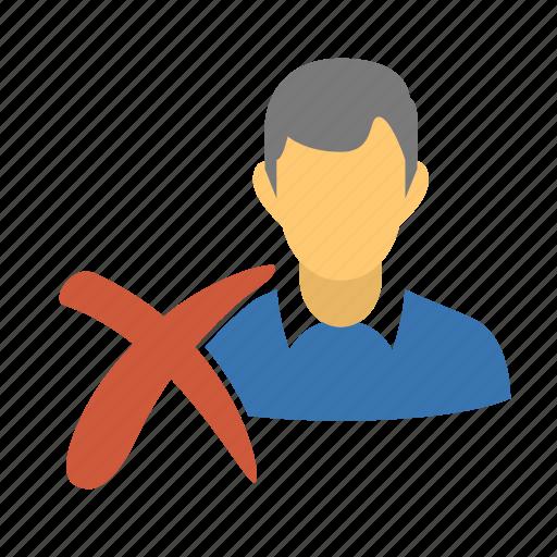 close, delete, delete client, delete profile, delete user, destroy, kill, man, profile, reject, reject user, remove, remove client, remove profile, remove user, user icon