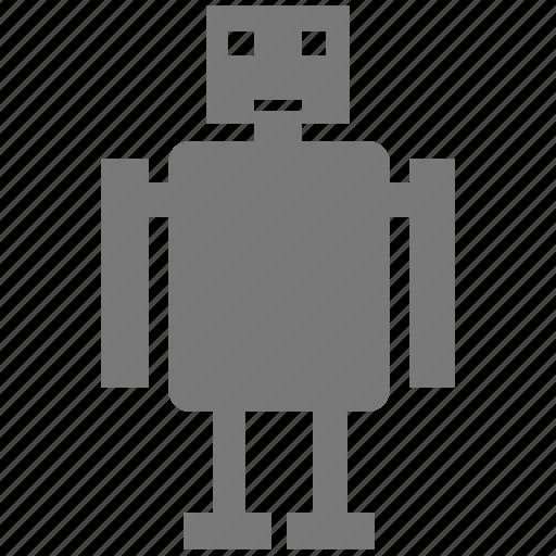 ai, android, bender, droid, machine, machinery, metal, pixar, robo, robot, robotics, worker icon